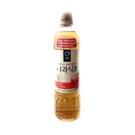Cuka Apel Korea Daesang Chung Jung One Box Set jual daily deals daesang chung jung one apple vinegar cuka apel korea 900 ml harga