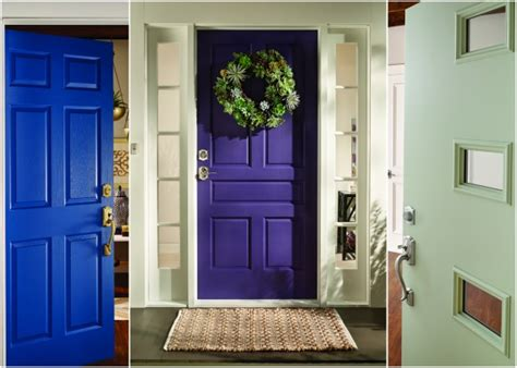 choosing a front door color astana apartments