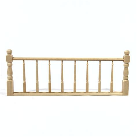 dolls house railings wooden railing assembly for 1 12 scale dolls house components 7251 from bromley