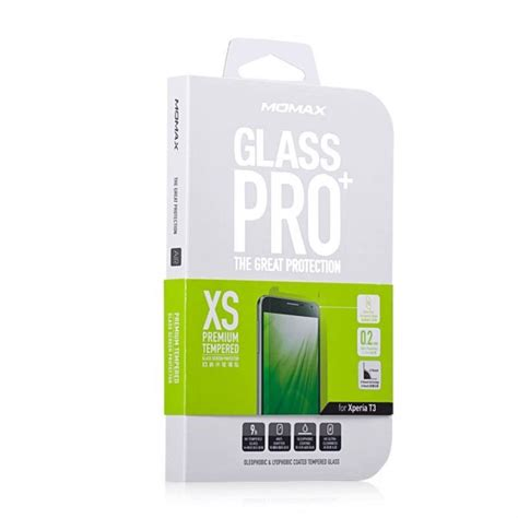 Tempered Glass Sony Xperia T3 D5102 D5103 momax glass pro 9h hardness tempered glass screen