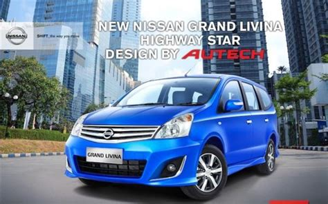 Grand Livina 1 8 Mt Xv Ultimate nissan karawang