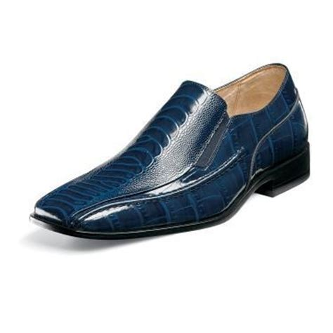 teague navy blue s dress shoes