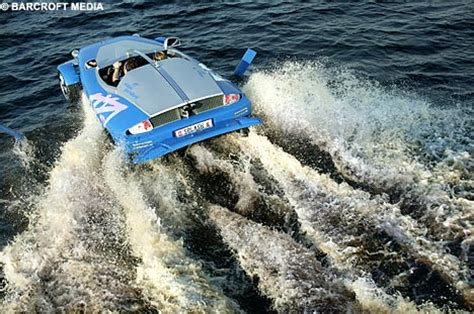 toy boat that turns into a car the high speed sports car that turns into a boat at the