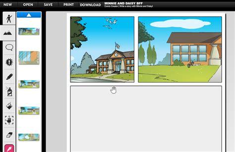 membuat latar belakang komik membuat komik disney secara online kursus komputer