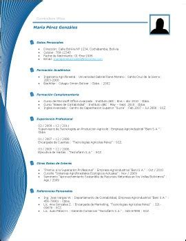 Modelo Curriculum Dominicano plantillas curriculum vitae gratis word gratis 20 modelos curriculum vitae en