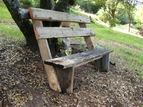 easy outdoor bench how to build simple garden benches for free flea market