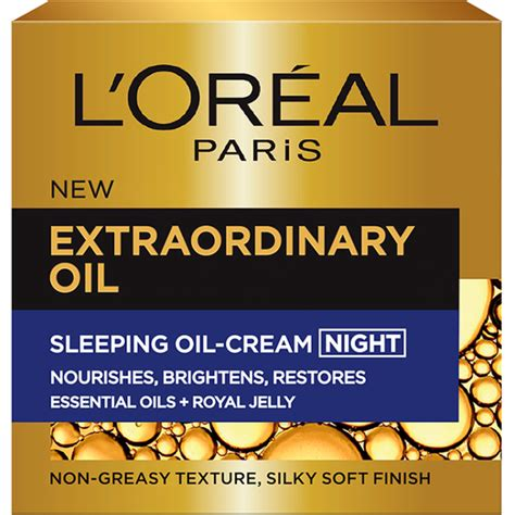 L Oreal Extraordinary 50ml l or 233 al extraordinary schlaf 246 l nachtcreme 50ml