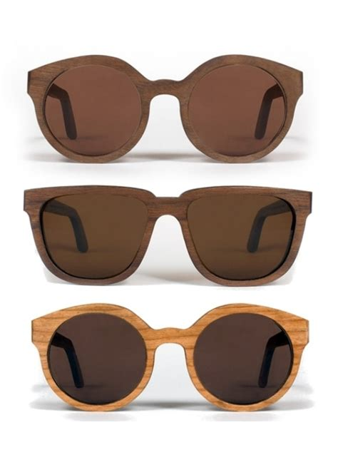 Handmade Sunglasses - capital eyewear handmade wood sunglasses