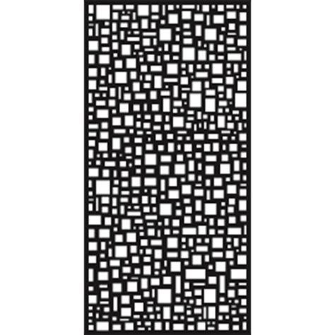 Panel Matrix Matrix 2410 X 1205 X 7mm Charcoal Mosaic Screen Panel