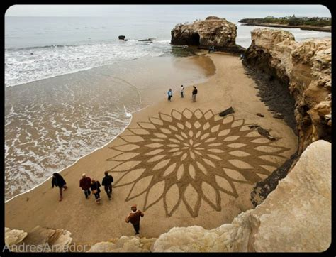 sand pattern artist amazing world fun amazing sand art by andres amador