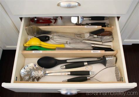 kitchen drawer ideas 13 storage ideas that will instantly declutter your