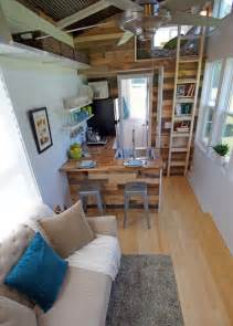 tiny homes interior brightly colored tiny house on wheels called the yosemite