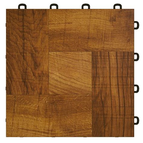 interlocking basement floor tiles wood vinyl top