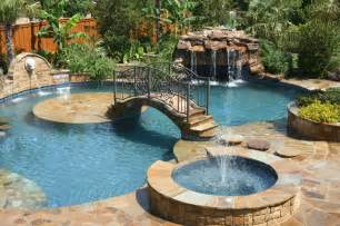 Pictures Of Backyards With Pools Backyard Paradise