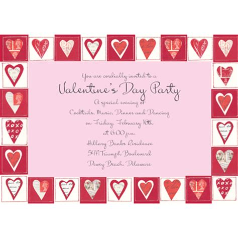 printable valentine invitation cards valentine day party invitation cards valentine s day cards