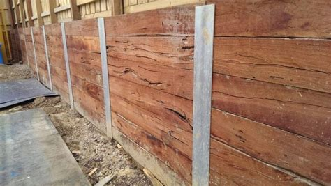 Timber Sleeper Retaining Walls by 11 Best Images About Retaining Walls On Metals