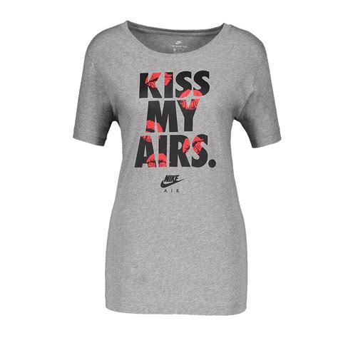 T Shirt My Airs Nike nike my airs t shirt damen grau f063 lifestyle