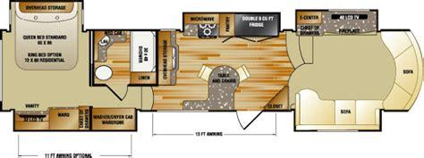 rushmore rv floor plans rushmore 5th wheels lincoln