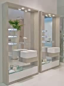 modernos dise espejos para modern small bathroom design ideas