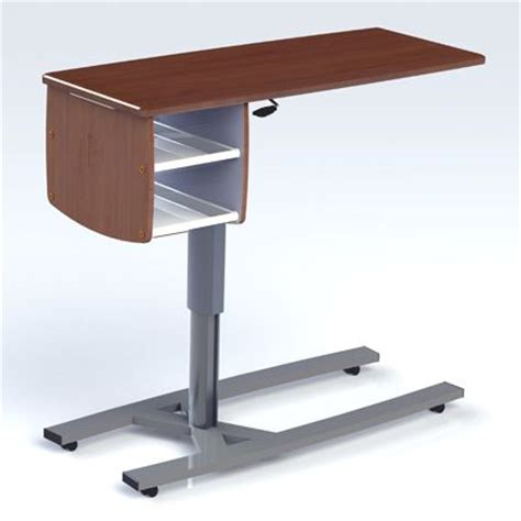 overbed table with storage 1000 ideas about overbed table on wood