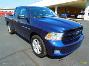 Dodge Ram True Blue Pearlcoat 2012 True Blue Pearl Dodge Ram 1500 Express Cab