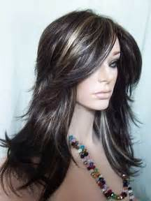 highlights to hide grey in darker hair grey highlights on dark hair bing images