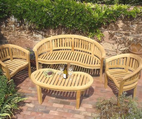 curved teak benches for gardens curved teak garden bench home design ideas