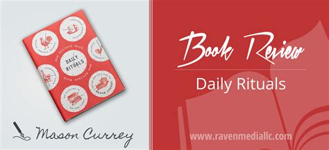 Daily Rituals How Artists Work Book Review Raven Media