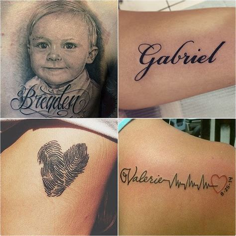 kid tattoo 14 ideas for parents wanting to honor their