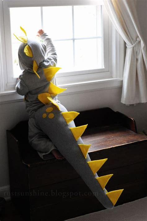 Handmade Dinosaur Costume - diy dinosaur costume tutorial