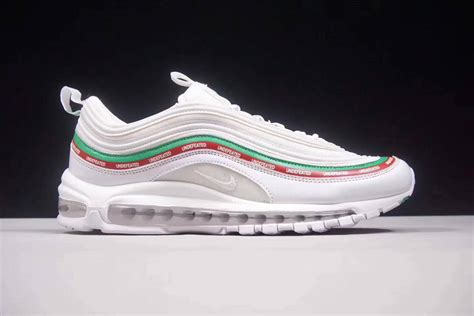 Nike Air Max 97 Undefeated White Sepatu Jalan Pria Sneakers Premium undefeated x nike air max 97 white to buy new jordans 2015