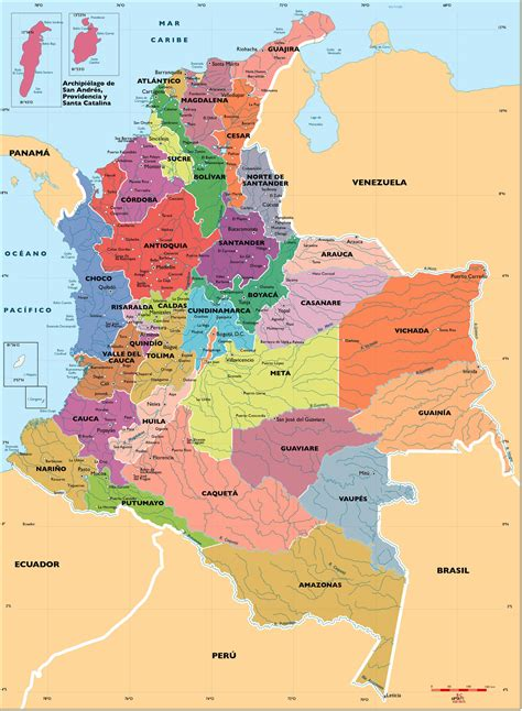 imagenes satelitales de colombia mapa de colombia mi colombia pinterest colombia y mapas