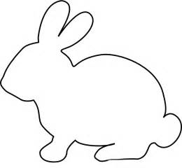 Bunny Templates To Print by Easter Bunny Rabbit Template Clipart Best