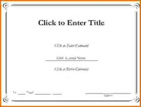 Certificate Templates For Word by Free Certificate Templates For Wordreference Letters Words