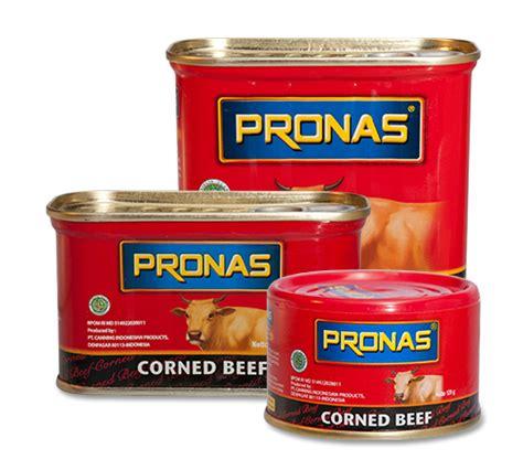 Pronas Corned Beef Kornet Daging Sapi 340 Gram Ko recipe pronas home