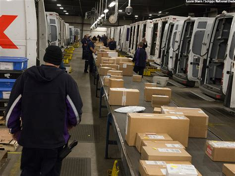 go the as ups fedex race to deliver in time for wxyz