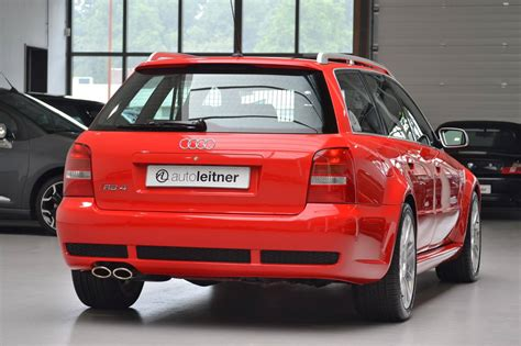 audie rs4 2001 audi rs4 avant with 188 km on the clock selling for