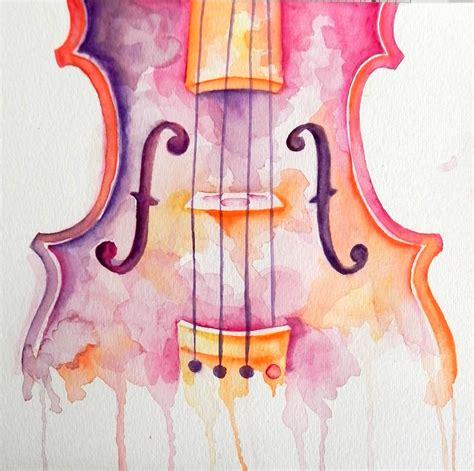 imagenes tumblr watercolor watercolor violin by generallyspeaking on deviantart