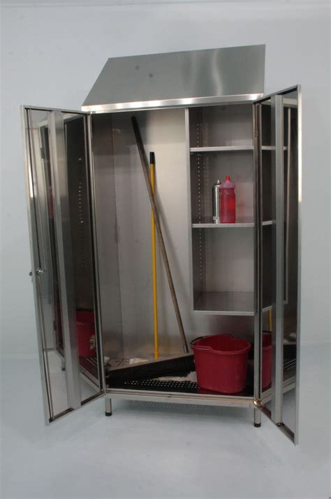 Broom And Mop Storage Cabinet   Home Design Ideas