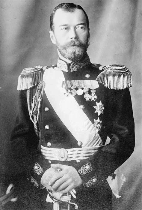 Tsar Nicholas II of Russia Abdicates.   Royal Irish