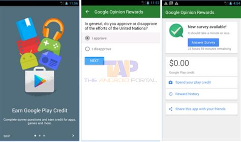 Google Play Gift Card Rewards - how to get free google play credit