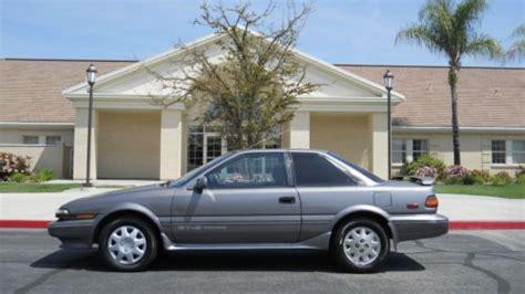 1989 Toyota Corolla 2 Door Purchase Used 1989 Toyota Corolla Gts Coupe 2 Door 1 6l In