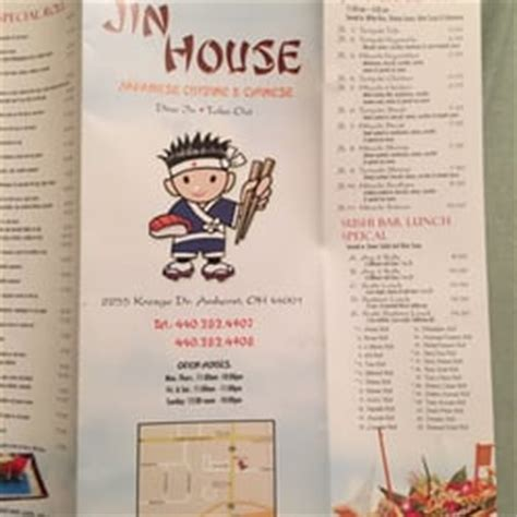 jin house menu jin house 26 photos 70 reviews chinese 2255 kresge dr amherst oh restaurant reviews