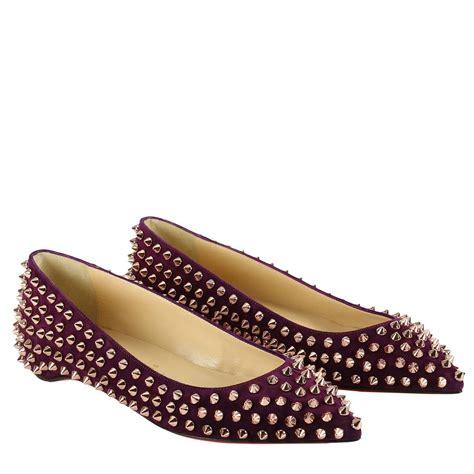 ballet flat sneakers christian louboutin ballet flats shoes christian