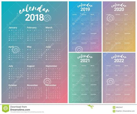 2018 2022 sparkle five year planner 2018 2022 monthly schedule organizer â agenda planner for the next five years 60 months calendar â 8 5 x 11 5 year diary 5 year calendar logbook books year 2018 2019 2020 2021 2022 calendar vector stock vector