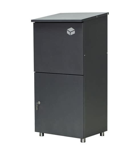 m lltonnenbox mit paketbox paketkasten selber bauen paketbriefkasten funktionsweise