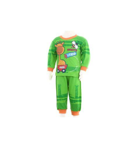 Baju Anak Cowok Pyjamas Setelan Anak Cowok Lengan Panjang Karroku 059000086