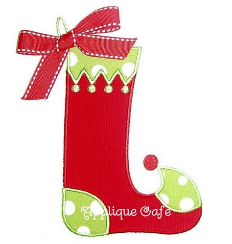embroidery patterns for christmas stocking 007 christmas stocking machine embroidery applique design