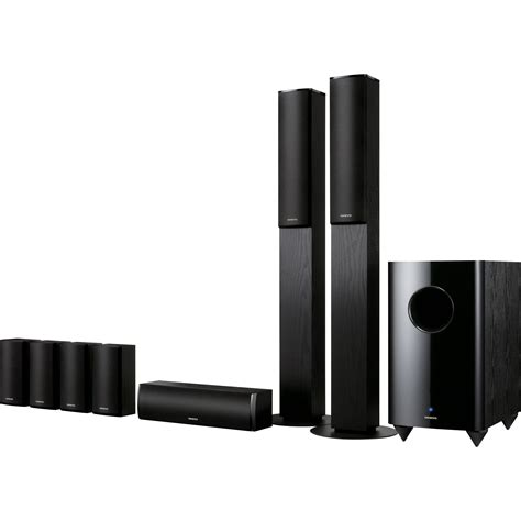Home Theater Onkyo 7 1 Onkyo Sks Ht870 7 1 Channel Home Theater Speaker System