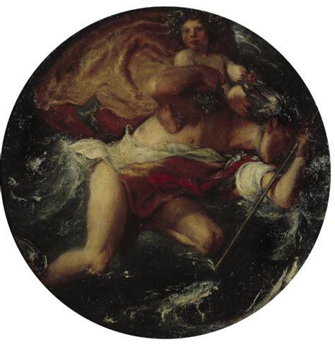 Hermes Moona 1908 1 hermes and the infant bacchus charles shannon 1902 6 tate